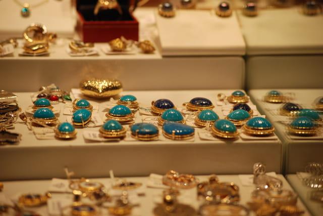 Les bijoux en turquoise