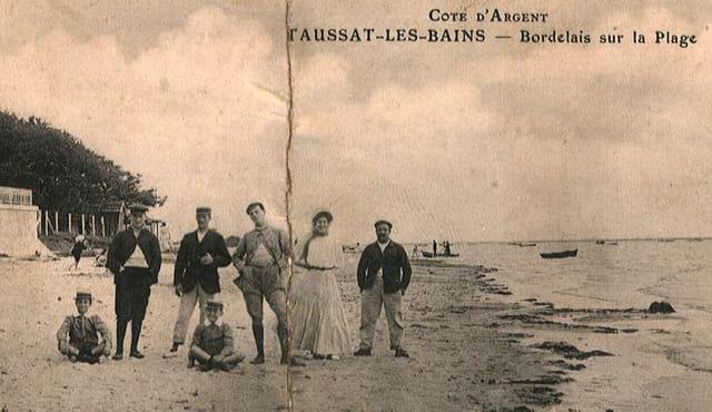 Les bordelais à la plage