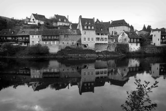 Les bords de Dordogne