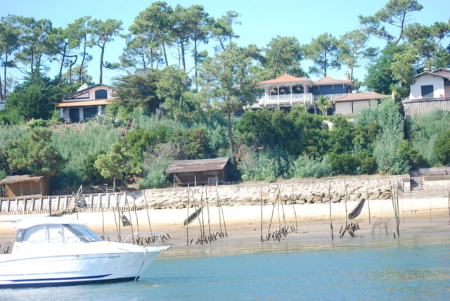 les bords du Bassin d'Arcachon