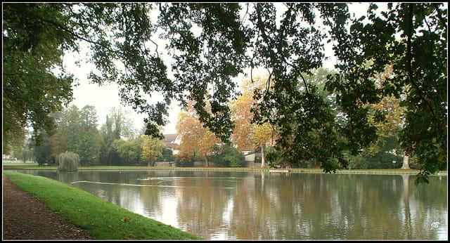 Les bords du lac...