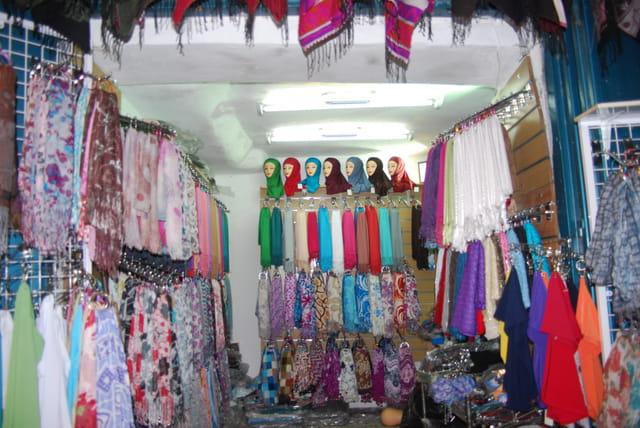 les boutiques de la vieille ville de Jérusalem