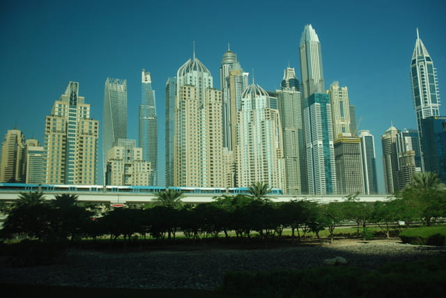 les buildings de Dubaï