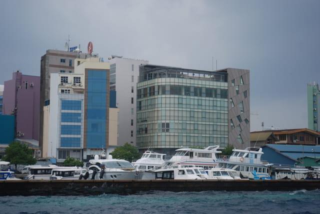 les buildings de Malé