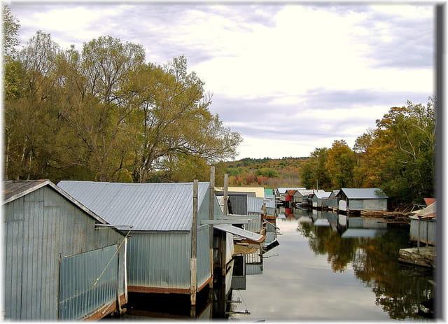 Les cabanes à bateaux