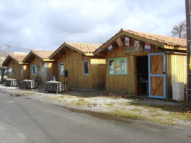 Les cabanes ostréicoles de Lanton