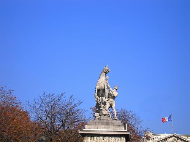 Les Chevaux de Marly place de la Concorde
