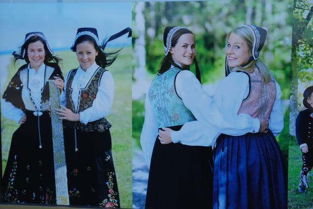 les costumes traditionnels Norvégiens