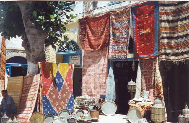 Les couleurs des souks de marrackec