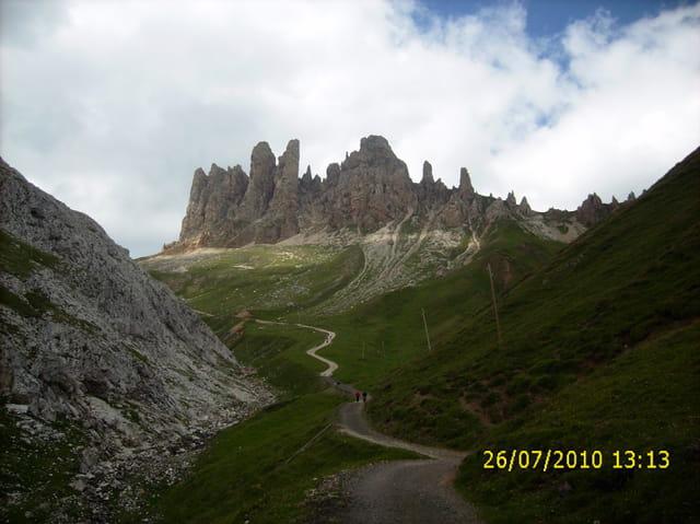 Les  Dolomites féeriques