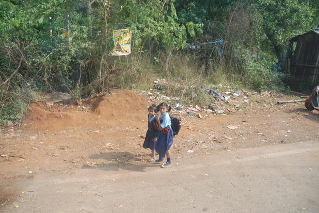 les écolières de Goa