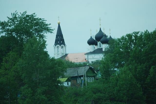 les églises orthodoxes Russes