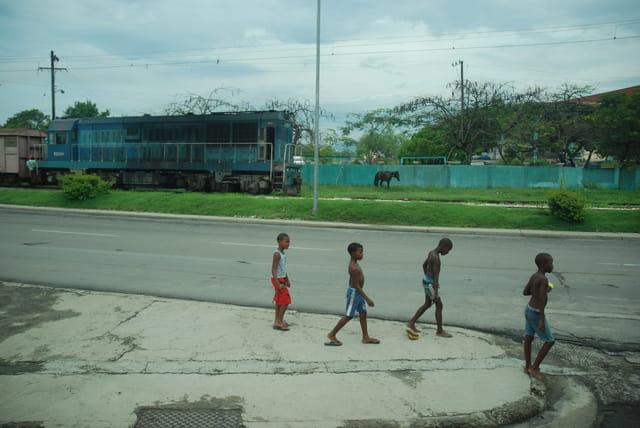 les enfants de Santiago de Cuba