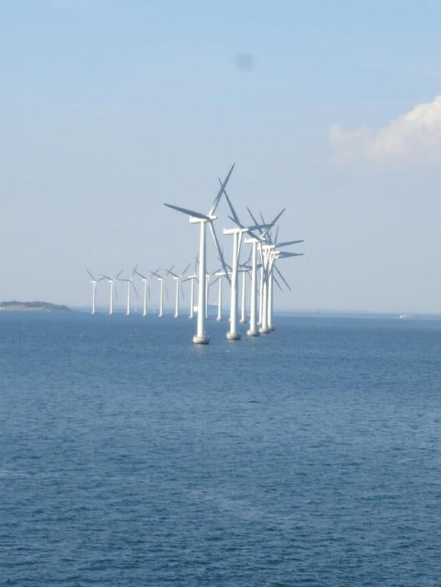 Les éoliennes de copenhague