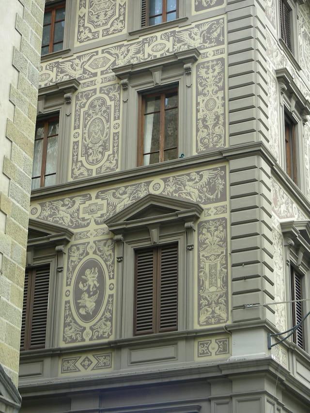 Les façades...