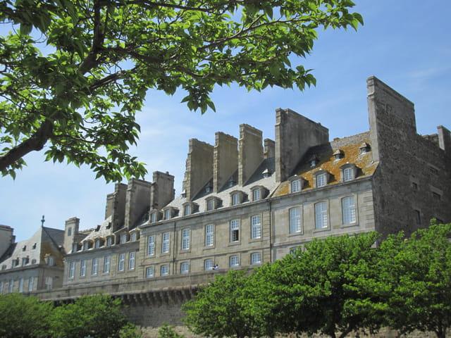 Les façades de Saint-Malo