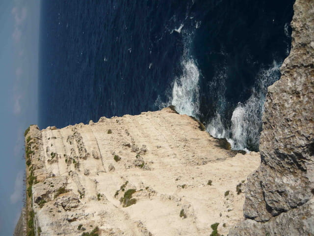 Les falaises de Dingli(Gozo Malte).