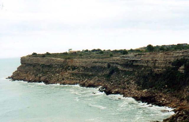 Les falaises de Leucate