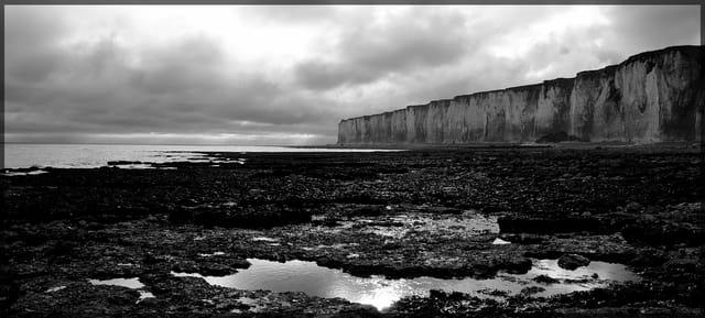 Les falaises de Normandie