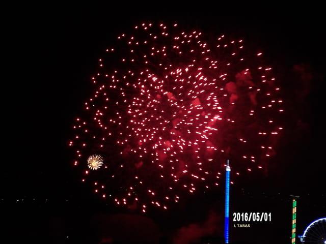 Les feux d'artifice de la Foire du Trône 14