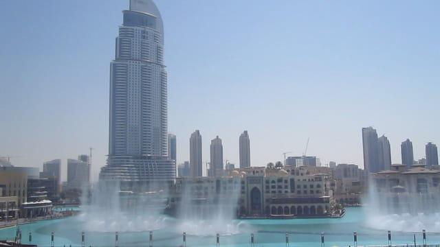 Les fontaines de Dubaï