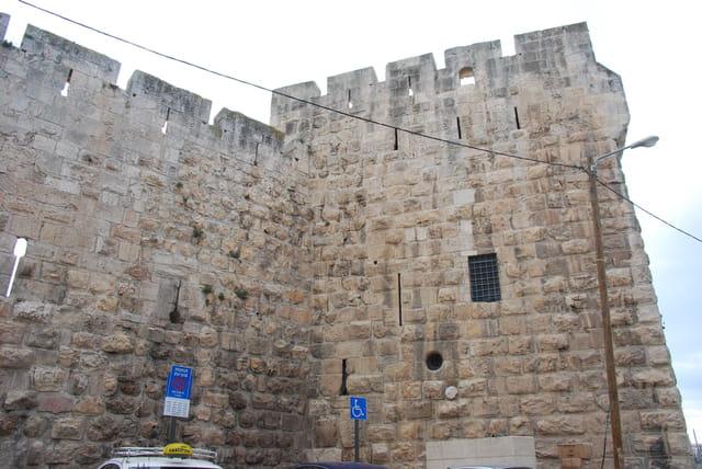 les fortifications de Jérusalem