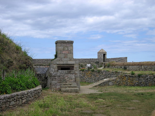 Les fortifications nord (1) Fort-La-Latte