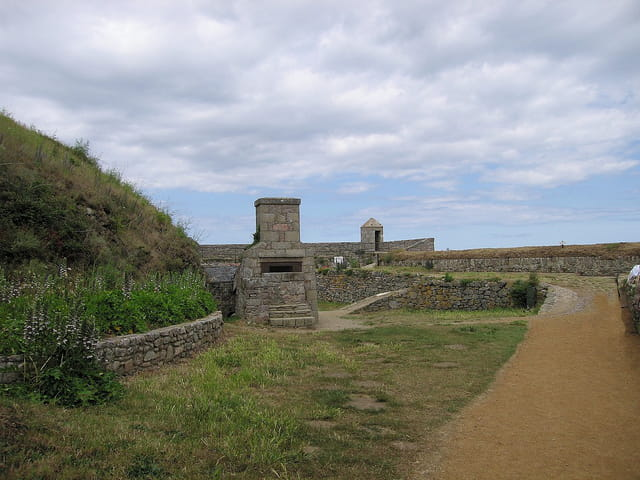Les fortifications nord (2) Fort-La-Latte