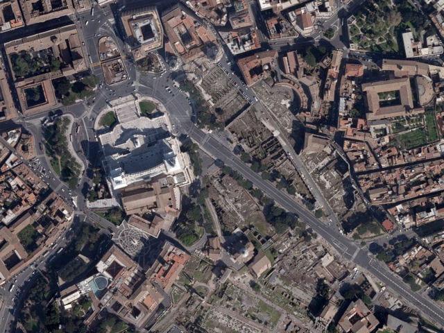 Les forums romains