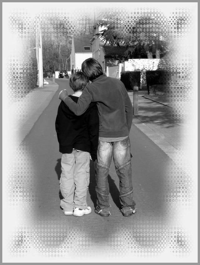 Les frères sur le chemin de la vie