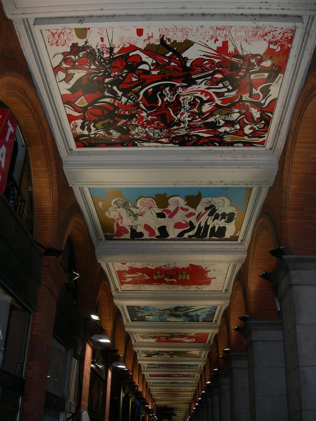 Les fresques du Capitole