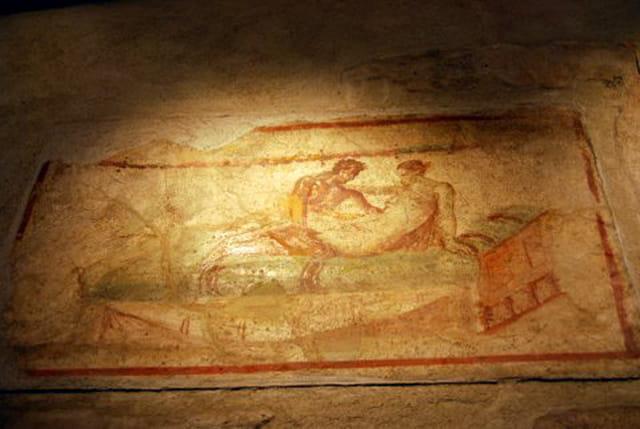 les fresques du lupanar