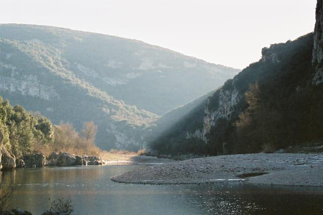 Les gorges de vallon Pont d'Arc