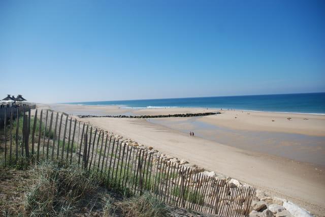 les grandes plages sauvages de la Gironde