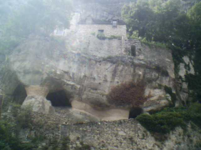 Les grottes de Rocamadour