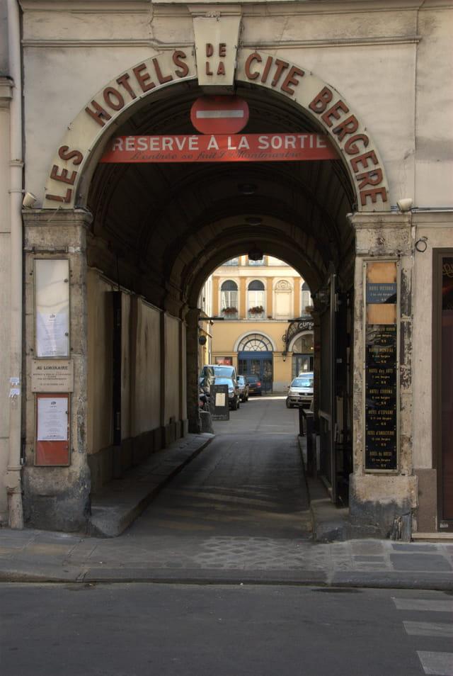 Les Hôtels de La Cité Bergère
