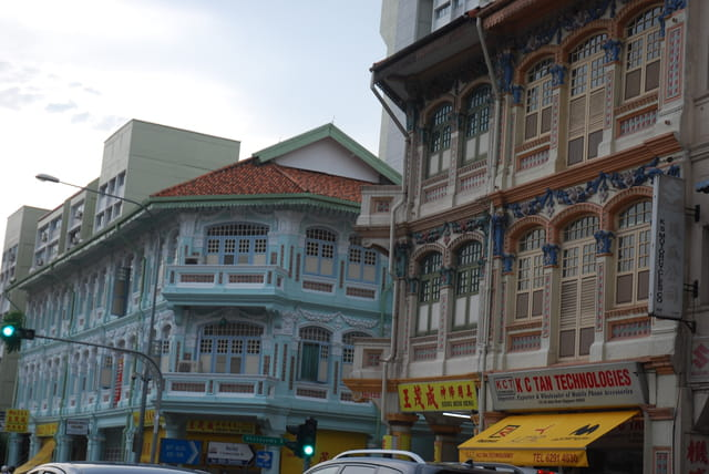 les immeubles de Little India
