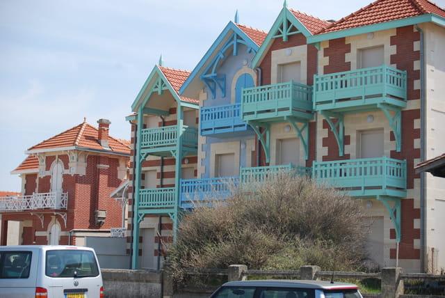 Les immeubles du front de mer