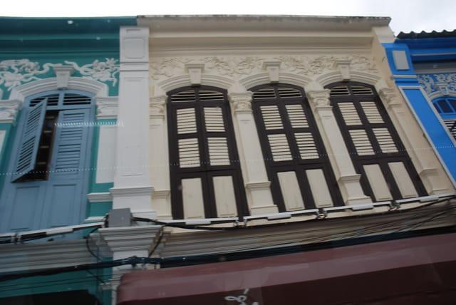 les immeubles Thaï