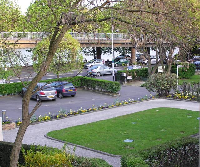 Les jardins de la mairie