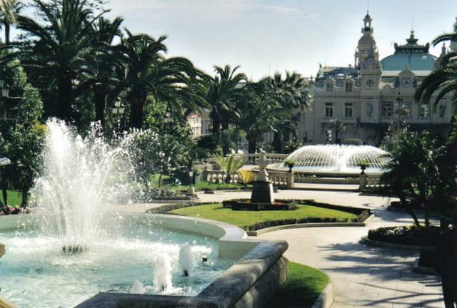 Les jardins du Casino de Monte Carlo