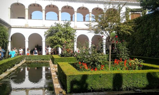 Les jardins du Generalife