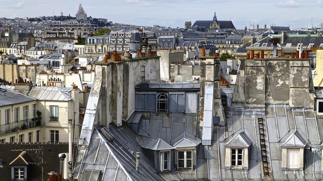 Les jolis toits de Paris