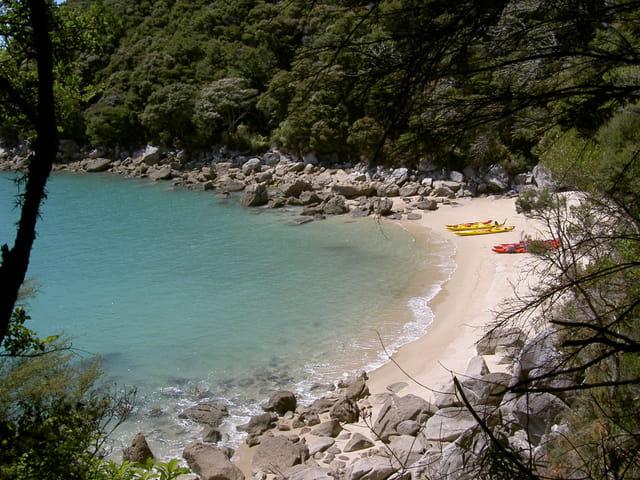 Les kayaks au paradis