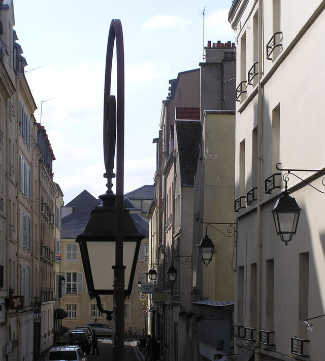Les lampadaires de st germain
