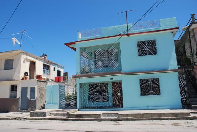 les maisons de Cienfuegos