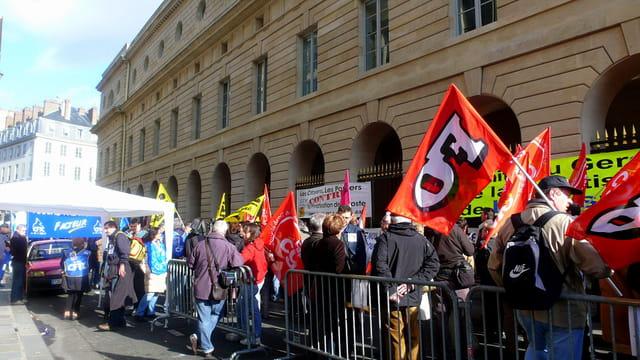 Les manifestants !