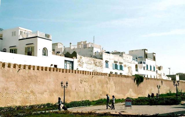 Les murs de l'ancien ville