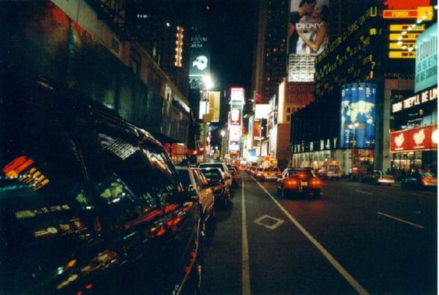 Les néons de times square