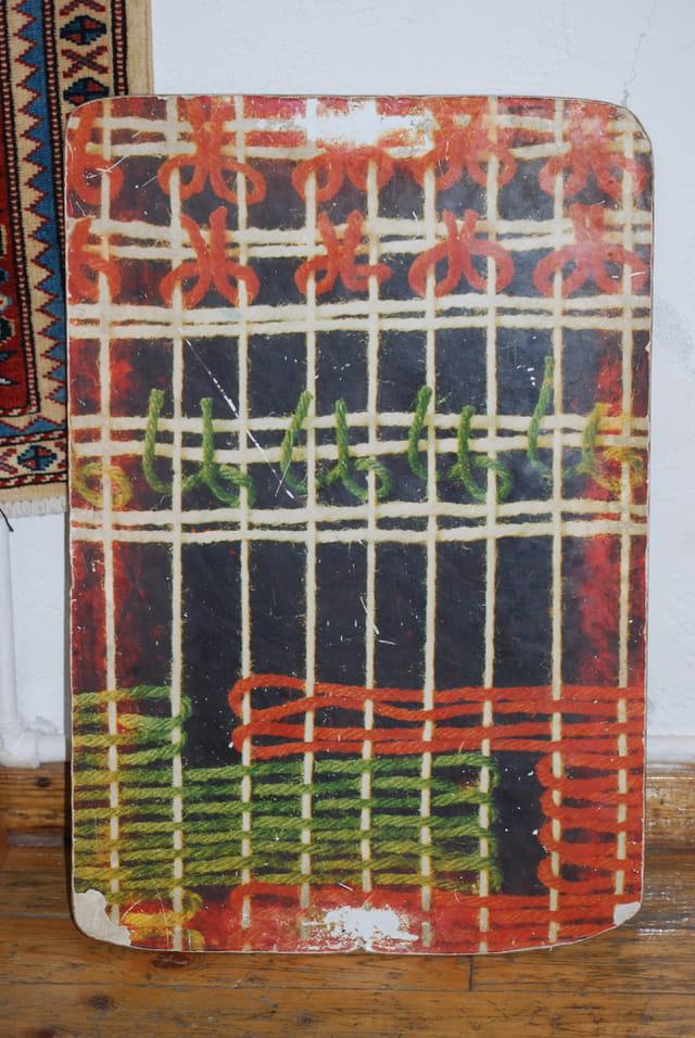 Les noeuds des tapis turcs